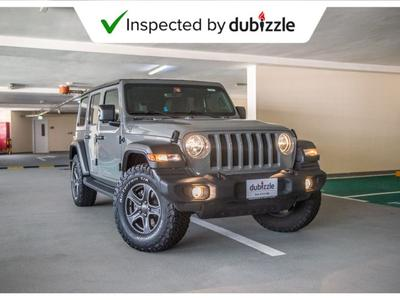 Jeep Wrangler 2018 AED1943/month | 2018 Jeep Wrangler Sport 3.6L...