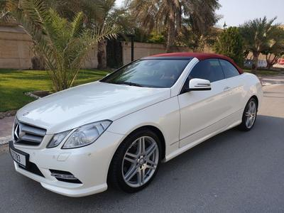 Mercedes-Benz E-Class 2013 MINT E350 CABRIOLET**GCC**LOWEST MILEAGE** OR...
