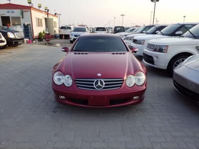 Mercedes-Benz SL-Class 2003 SL 500 with open sunroof