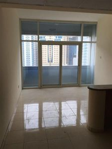 1 - SPECIOUS STUDIO JUST IN 17K WITH BALCONY CHQS AL NAHDA SHARJAH CALL ALI :النهدة صورة في عقار للإيجار
