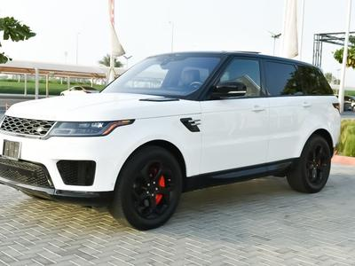 لاند روفر رينج روفر سبورت 2018 2018 Range Rover sport V6 super charged