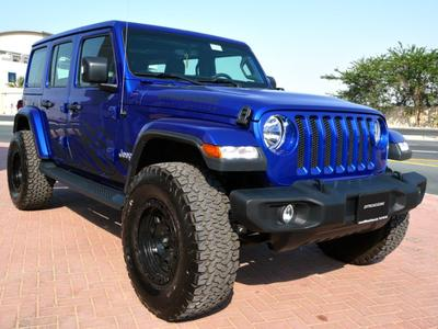 Jeep Wrangler 2018 Brand New JLU Wrangler Special Luxury Edition