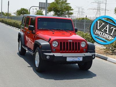 Jeep Wrangler Unlimited Sport, 3.6L...