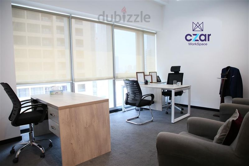 Property for Rent photos in Barsha Heights (Tecom): Spacious Private Office with a view including Ejari @Szr - 1
