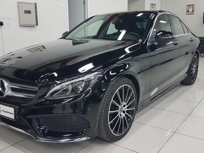 مرسيدس بنز الفئة-C 2018 Gcc Mercedes C200 AMG Full Option KM 9700 , 5...