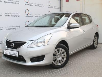 نيسان تيدا 2015 NISSAN TIIDA 1.6L S HATCHBACK 2015 GCC DEALER...
