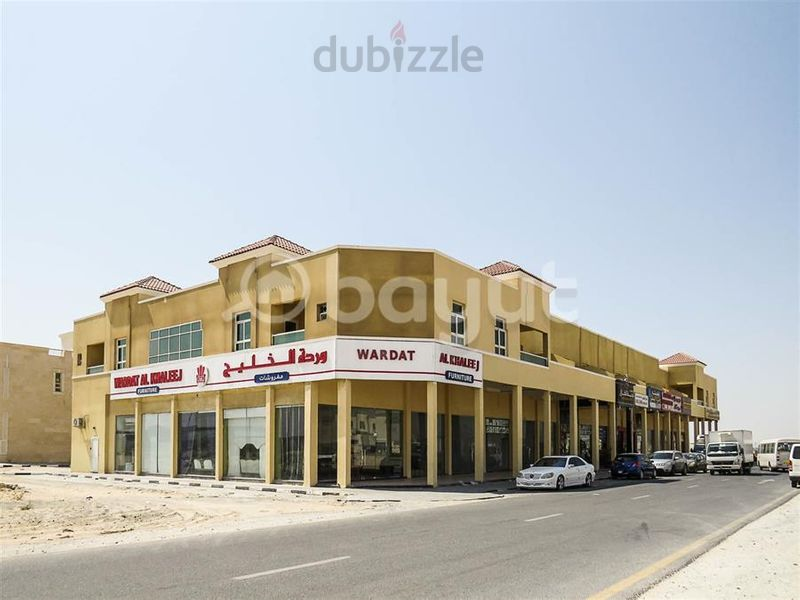Property for Rent photos in Hoshi Area: Shops For Rent, Sharjah - Hoshi with two months free Rent. - 1