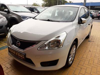 Nissan Tiida 2014 NISSAN TIIDA SV 2014 WHITE - GCC SPECIFICATIO...