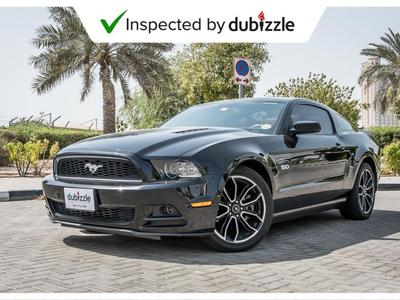 Ford Mustang 2014 AED1334/month | 2014 Ford Mustang GT 5.0L | F...