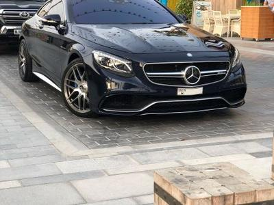 Mercedes-Benz S-Class 2015 S Class coupe AMG Disigno