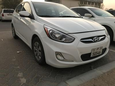 Hyundai Accent 2015 Hyundai Accent 2015 final price AED 17500 mil...
