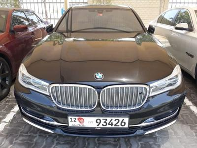 بي ام دبليو 7 - السلسلة 2017 BMW 750LI X-Drive,Model: 2017, GCC,Full Optio...