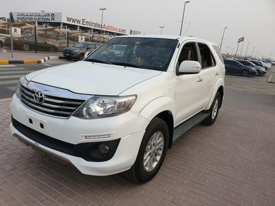 Toyota Fortuner 2014 FRUIRTION 2014 TRD GCC FULL OPINION FREE ACCI...