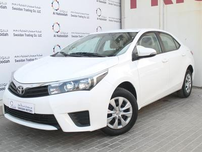 تويوتا كورولا 2016 TOYOTA COROLLA 1.6L SE 2016 GCC DEALER WARRAN...