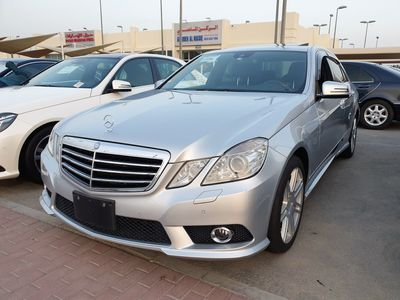 مرسيدس بنز الفئة-E 2010 E550 WITH AMG BODY KIT, IMPORTED FROM JAPAN