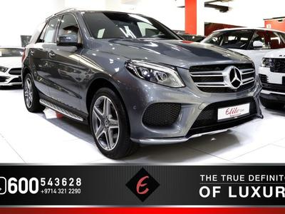 Mercedes-Benz GLE SUV 2017 ((2017)) MERCEDES GLE 400 (4MATIC) - GCC SPEC...