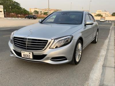 مرسيدس بنز الفئة-S 2014 Mercedes S400 – Absolutely New Condition – Ve...