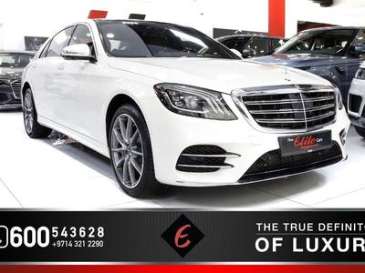 Mercedes-Benz S-Class 2018 BRAND NEW (2018) MERCEDES S560-4MATIC WITH RE...