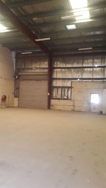 Property for Rent photos in Industrial Area 3: Sharjah industrial 12.   3,000 sq. Ft warehouse insulated high ceiling - 1