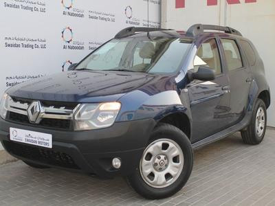 Renault Duster 2016 RENAULT DUSTER 2.0L 2016 GCC DEALER WARRANTY