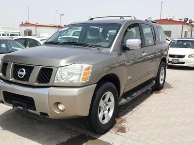 Nissan Armada 2007 Nissan armada Clean car no accident gcc se 20...