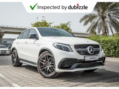 Mercedes-Benz GLE SUV 2018 AED5996/month | 2018 Mercedes GLE63 S Coupe 5...