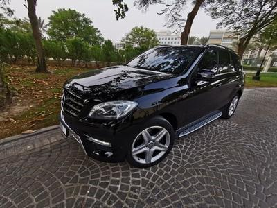 مرسيدس بنز الفئة-M 2013 Sold Mercedes Benz ML350 AMG GCC  Top of the ...