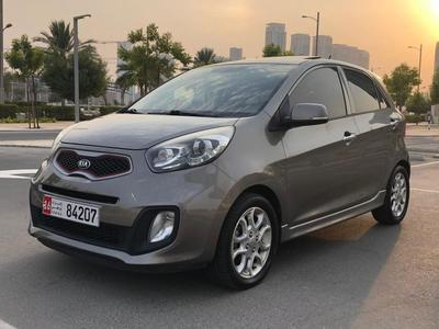 Kia Picanto 2015 KIA PICANTO 2015 GCC TOP OPTION NO PAINT LADY...