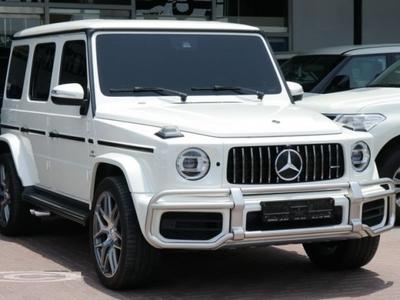 مرسيدس بنز الفئة-G 2019 MERCEDES G63 2019 5 YEARS WARRANTY FROM GARGA...