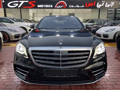 Mercedes-Benz S-Class 2018 MERCEDES S450 AMG 2018 Fully Loaded 5 Years W...