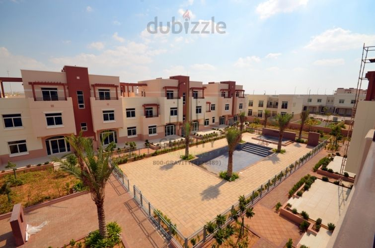 Property for Rent photos in Al Ghadeer: Vacant Studio in a Beautiful  Peaceful Community - 1
