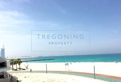 Property for Rent photos in Umm Suqeim 2: Luxury Beachfront Living with 4Beds and Pool - 1