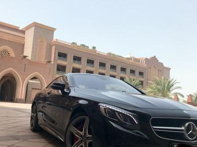 مرسيدس بنز الفئة-S 2015 Mercedes S63 Coupe GCC - Black Edition