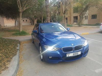 BMW 3-Series 2015 Byutiful BMW 328i GCC 2015 + contact services...