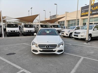 Mercedes-Benz C-Class 2017 MERCEDES C200 , 2017 , GCC , FREE ACCIDENT