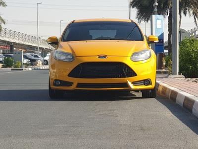 Ford Focus 2014 Ford focus st turbo manual