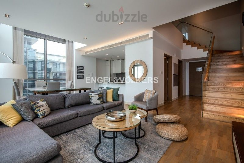 Property for Rent photos in City Walk: Unique Duplex | Furnished | Modern Living - 1