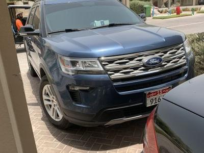 فورد إكسبلورر 2018 Ford explorer XLT 2018 (4x4) 16000 Km only /w...