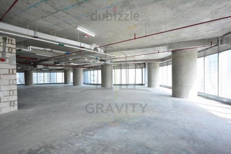 Property for Sale photos in Addax Port: Office Shell  core for sale for less than 850AED per sqft - 1