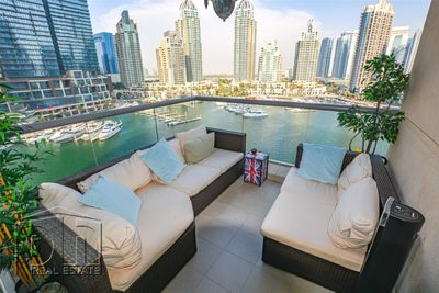 Property for Sale photos in Dubai Marina: 2 Bed | Marina View | Open To Offers | Rare Layout - 1