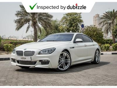 BMW 6-Series 2013 AED2155/month | 2013 Bmw 650i Pearl Edition 4...