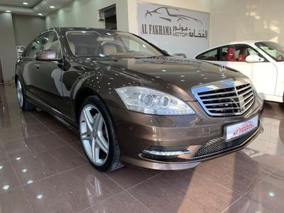 مرسيدس بنز الفئة-S 2011 MERCEDES BENZ S 500 AMG - 2011 GCC FULL OPTIO...