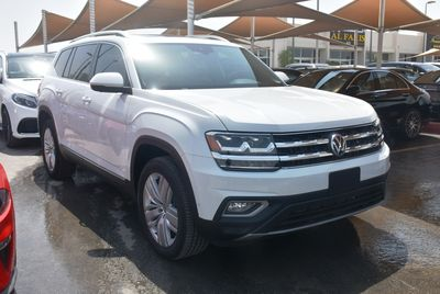 Volkswagen Other 2019 CLEAN TITLE ATLAS 7 Seats  EXECLINE 2019 WHIT...