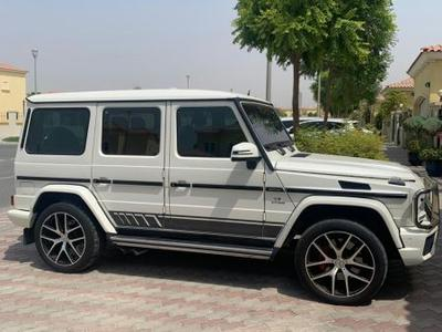 Mercedes-Benz G-Class 2016 G63 AMG GCC FSH from Gargash Lady driven only...
