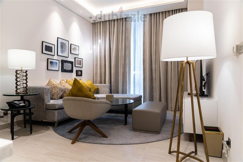 Property for Rent photos in Garhoud: Newly opened! Fully Furnished 3 bedroom, Grand Mercure Hotel Apartments (near GGICO metro/ Free WiFi - 1