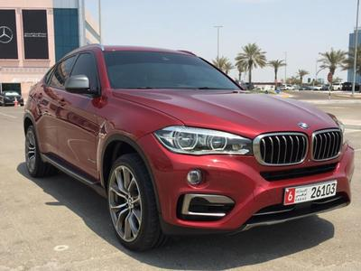 BMW X6 2015 BMW X6 GCC (5,0) 2015 LOW MILEAGE UNDER WARRA...