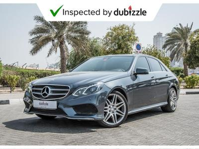Mercedes-Benz E-Class 2016 AED1975/month | 2016 Mercedes-Benz E300 3.5L ...