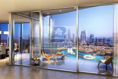 Property for Sale photos in Opera District: Luxurious. Half floor- Facing Burj Khalifa  Fountain - Top World Class- 50% DLD waived- 3 Years - 1