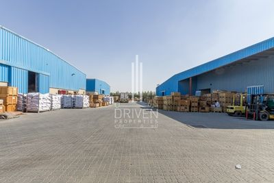Property for Rent photos in Dubai Industrial Park: Huge Warehouse l Al Quoz Industrial Area - 1