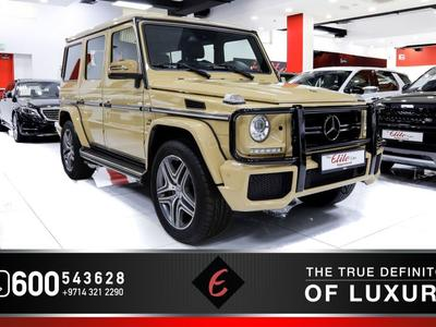 مرسيدس بنز الفئة-G 2017 *((2017)) MERCEDES G63//AMG WITH BULLBAR UNDE...